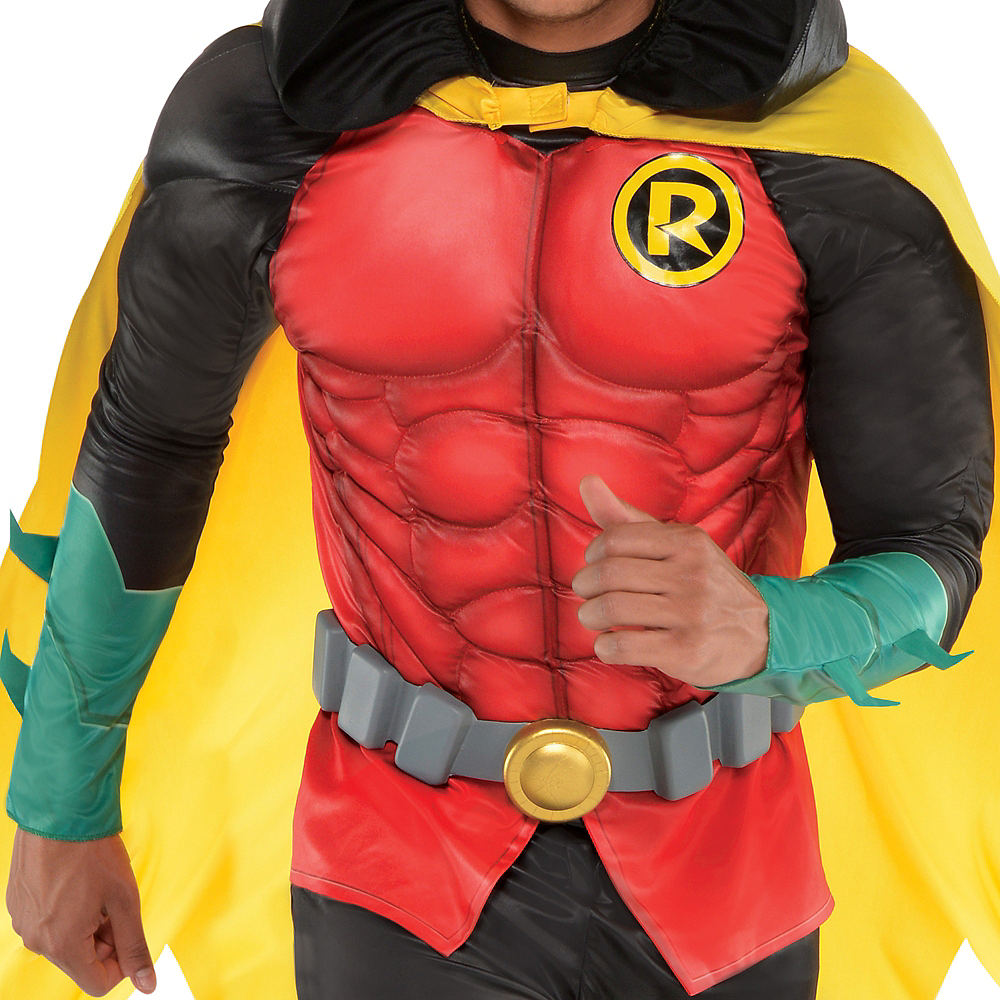 Adult Robin Muscle Costume - DC Comics New 52 Image #3