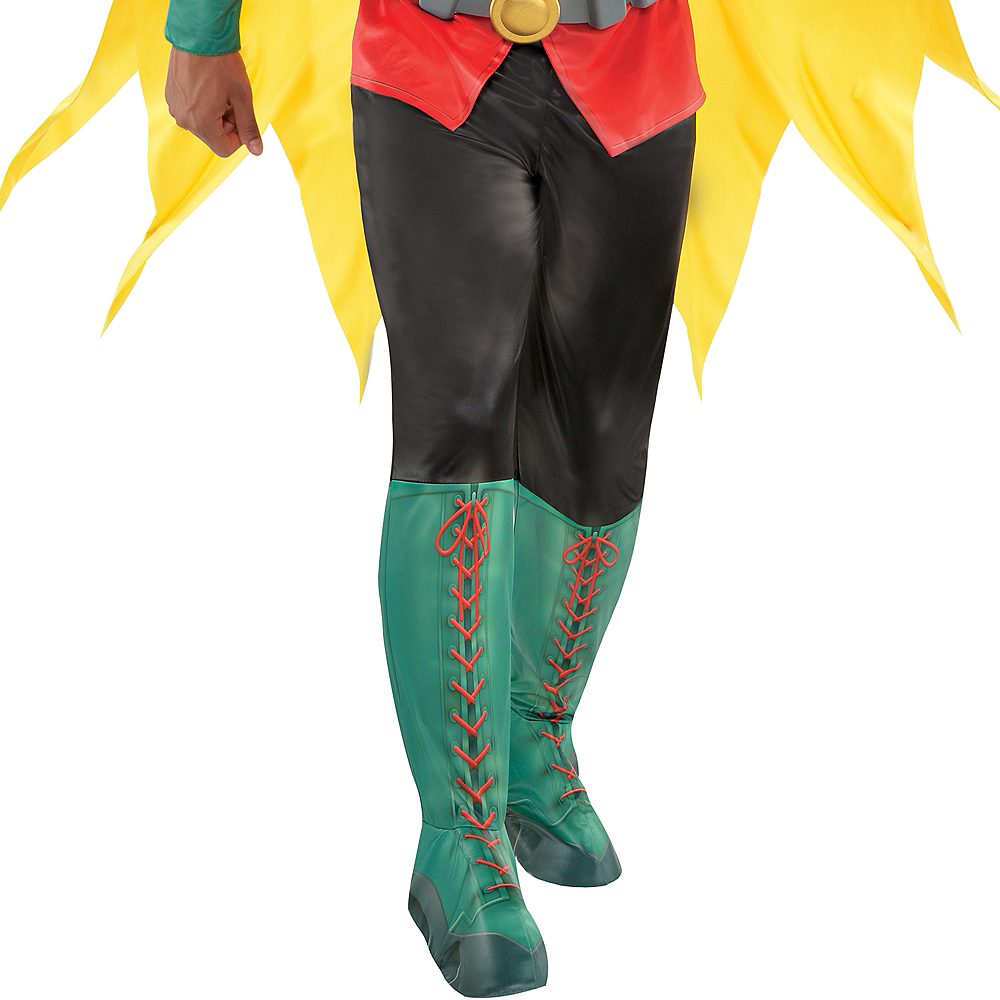 Adult Robin Muscle Costume - DC Comics New 52 Image #4
