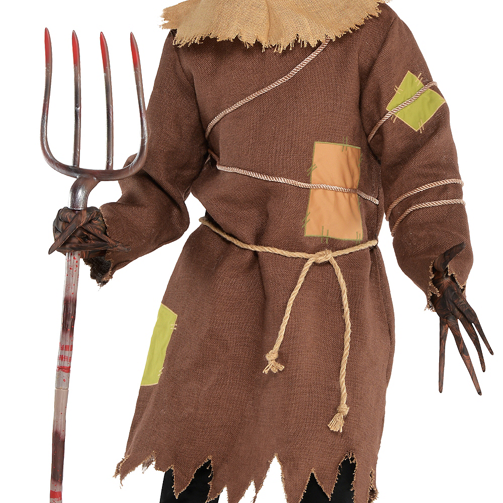 Adult Scary Scarecrow Costume Image #3