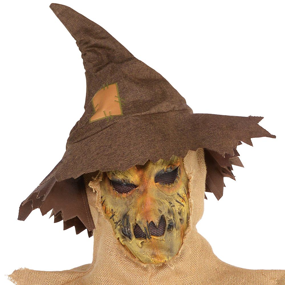 Adult Scary Scarecrow Costume Plus Size Image #2