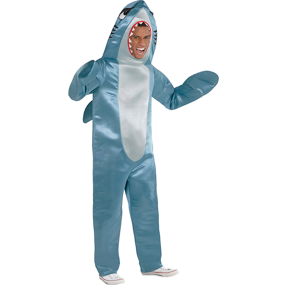 Adult Shark Costume Image #1
