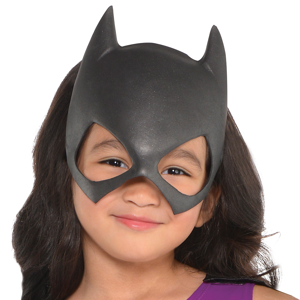 Toddler Girls Purple Batgirl Costume - Batman Image #2