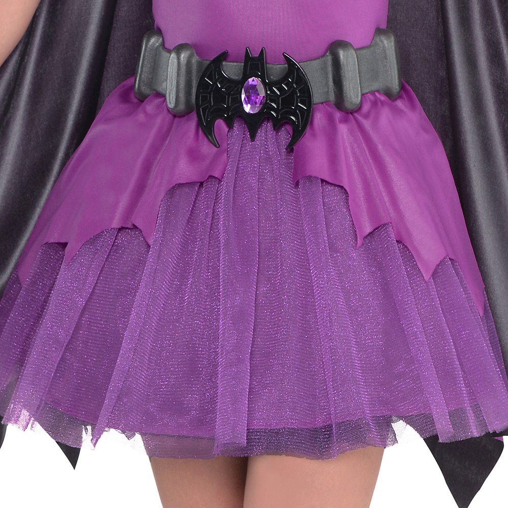 Girls Purple Batgirl Costume - Batman Image #4
