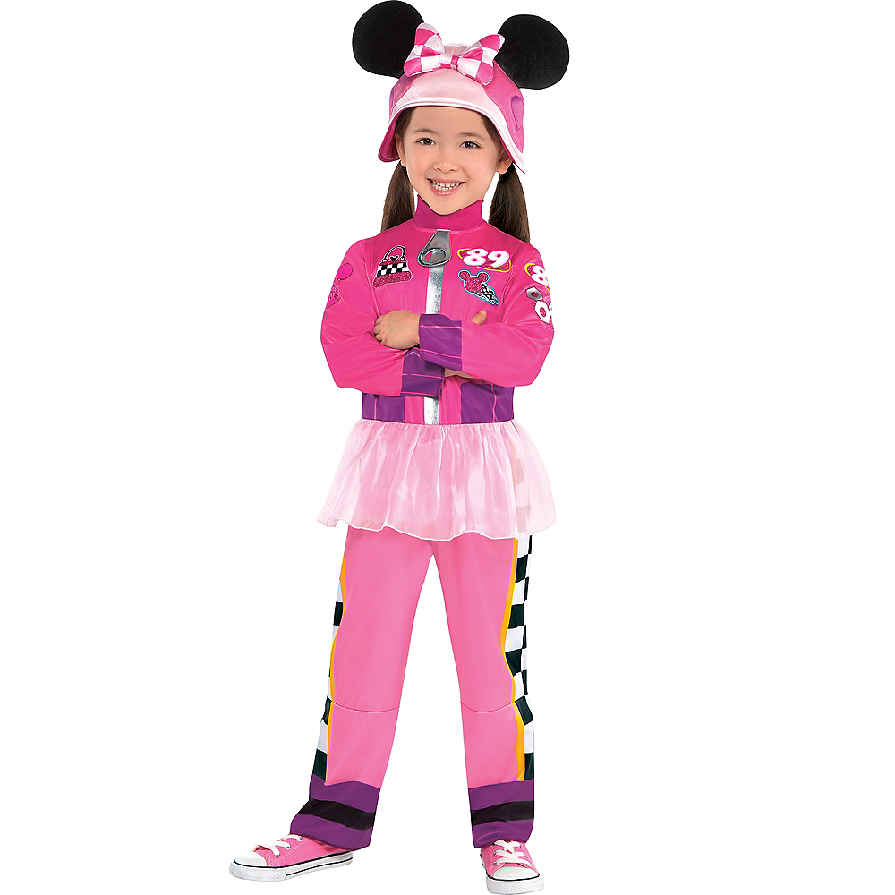 Toddler Girls Minnie Mouse Costume - Mickey & the Roadster Racers Image #1