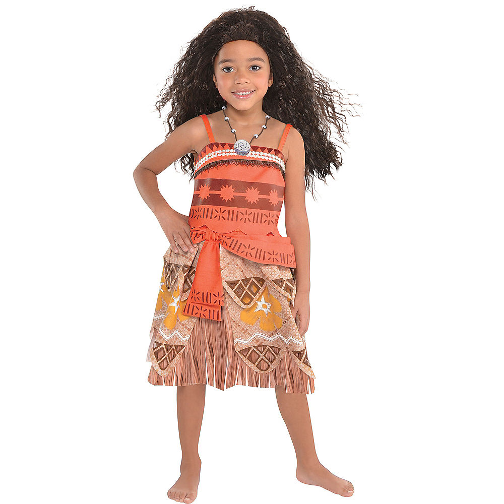 Nav Item for Girls Moana Costume Image #1