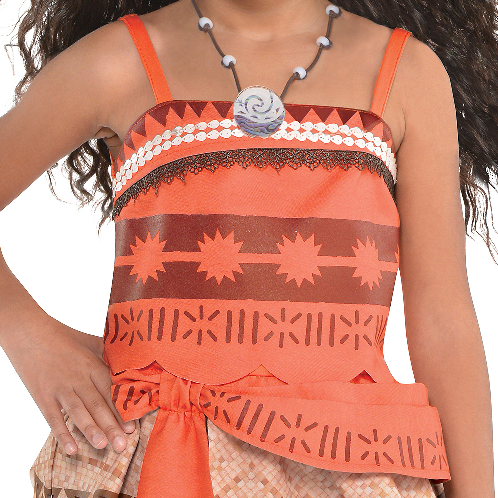 Nav Item for Girls Moana Costume Image #3