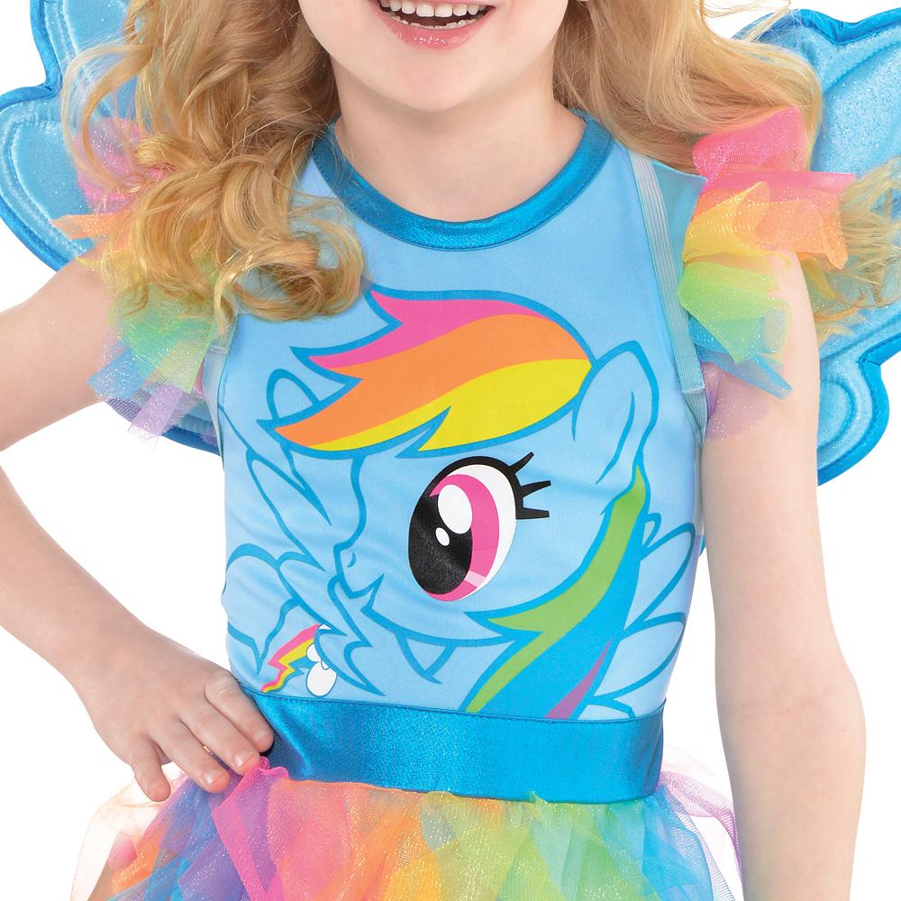 Girls Rainbow Dash Costume - My Little Pony Image #3