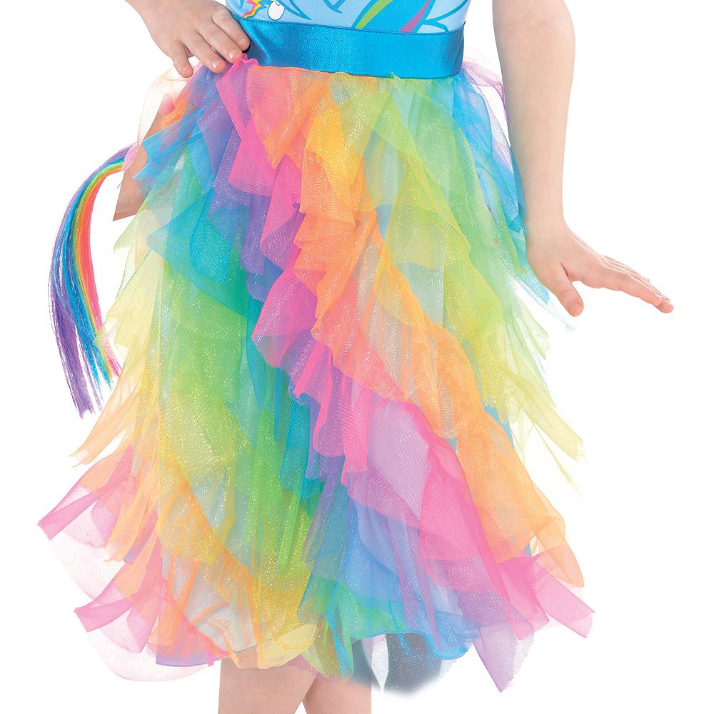 Girls Rainbow Dash Costume - My Little Pony Image #4