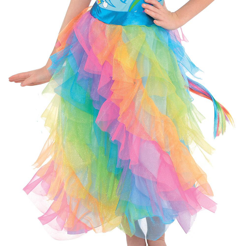 Girls Rainbow Dash Dress Costume - My Little Pony Image #4