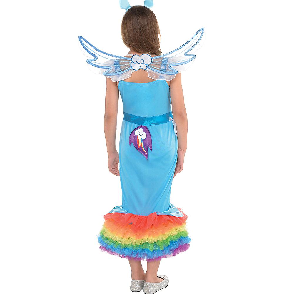 Girls Rainbow Dash Mermaid Costume - My Little Pony Image #2