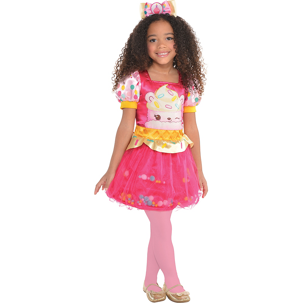 Girls Connie Confetti Costume - Num Noms Image #1