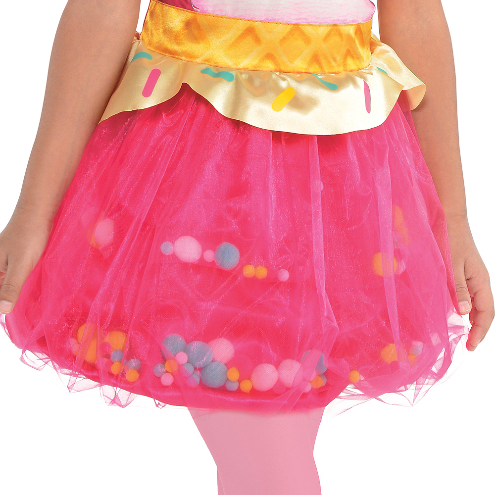 Girls Connie Confetti Costume - Num Noms Image #4
