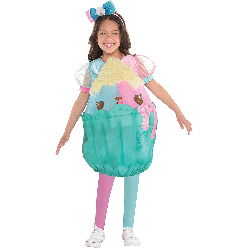 Nav Item for Girls Candie Puffs Costume - Num Noms Image #1