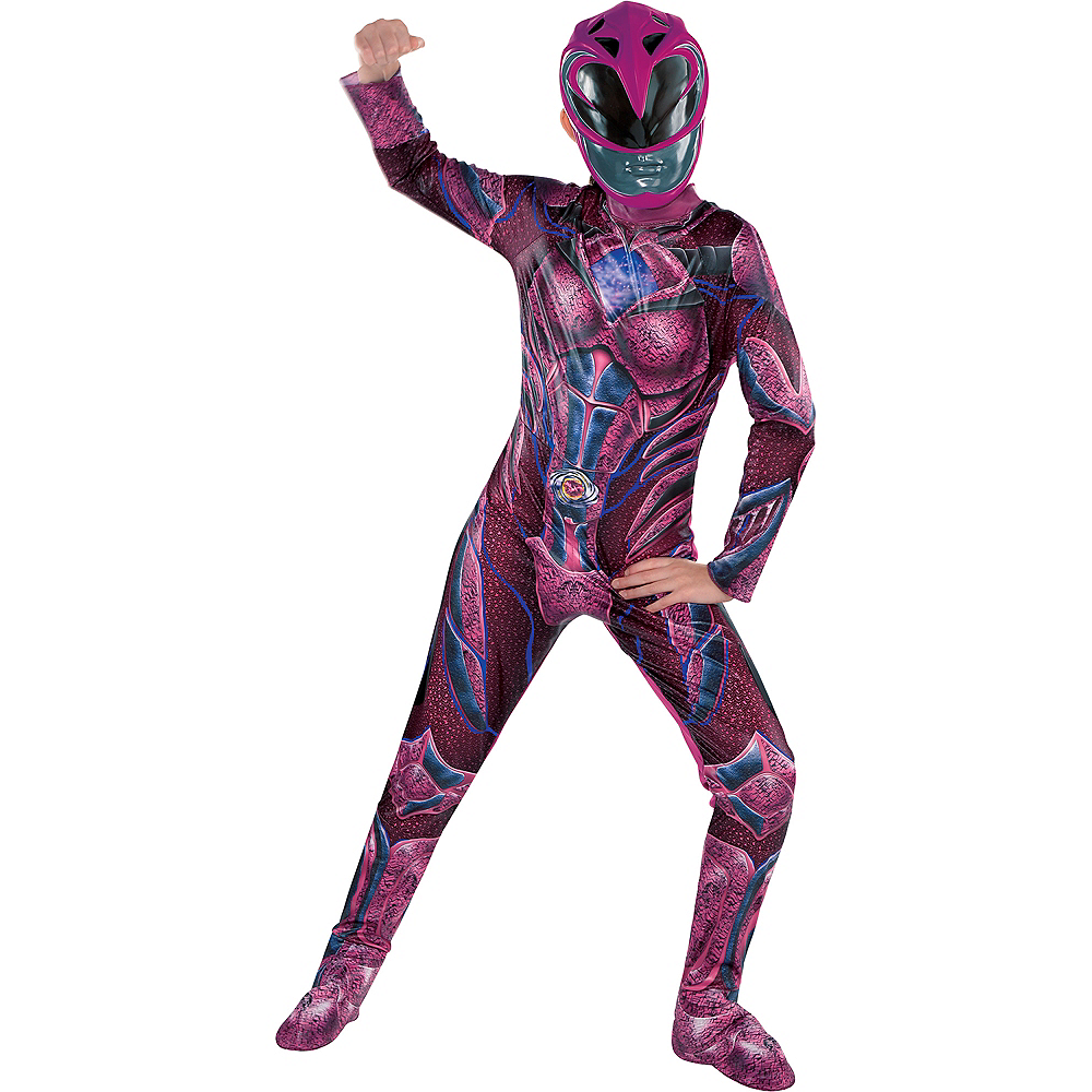 Girls Pink Ranger Costume Power Rangers Party City