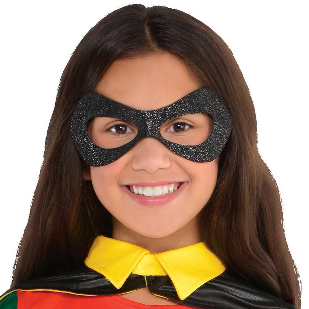 Nav Item for Girls Robin Costume - Batman Image #2