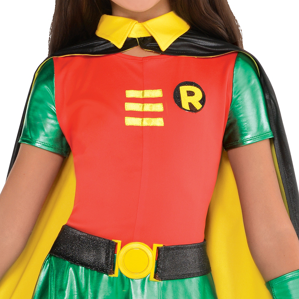 Girls Robin Costume - Batman Image #3