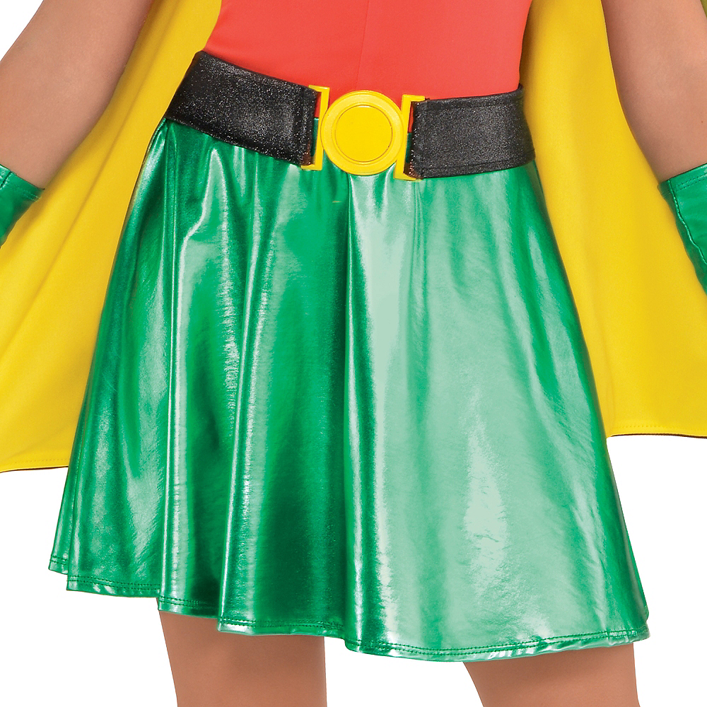 Nav Item for Girls Robin Costume - Batman Image #4
