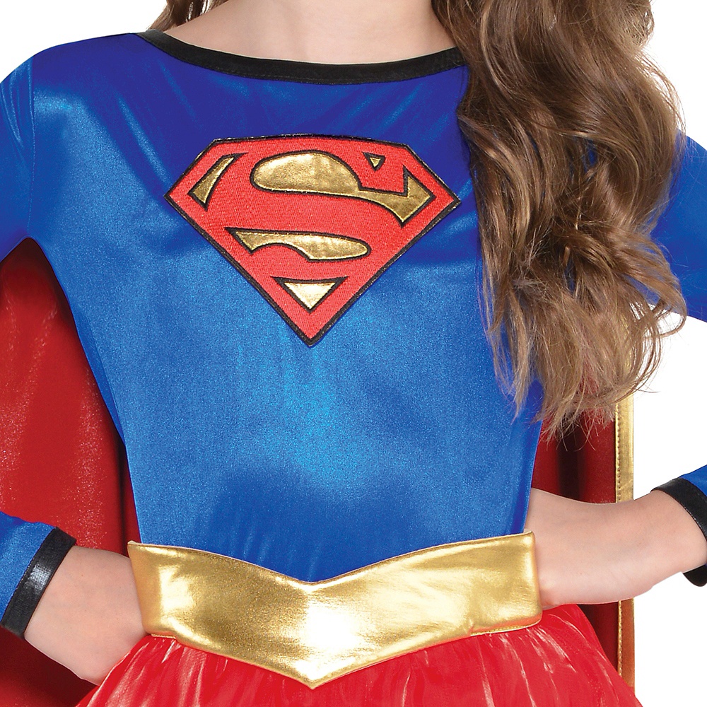 Girls Supergirl Costume - Superman Image #2