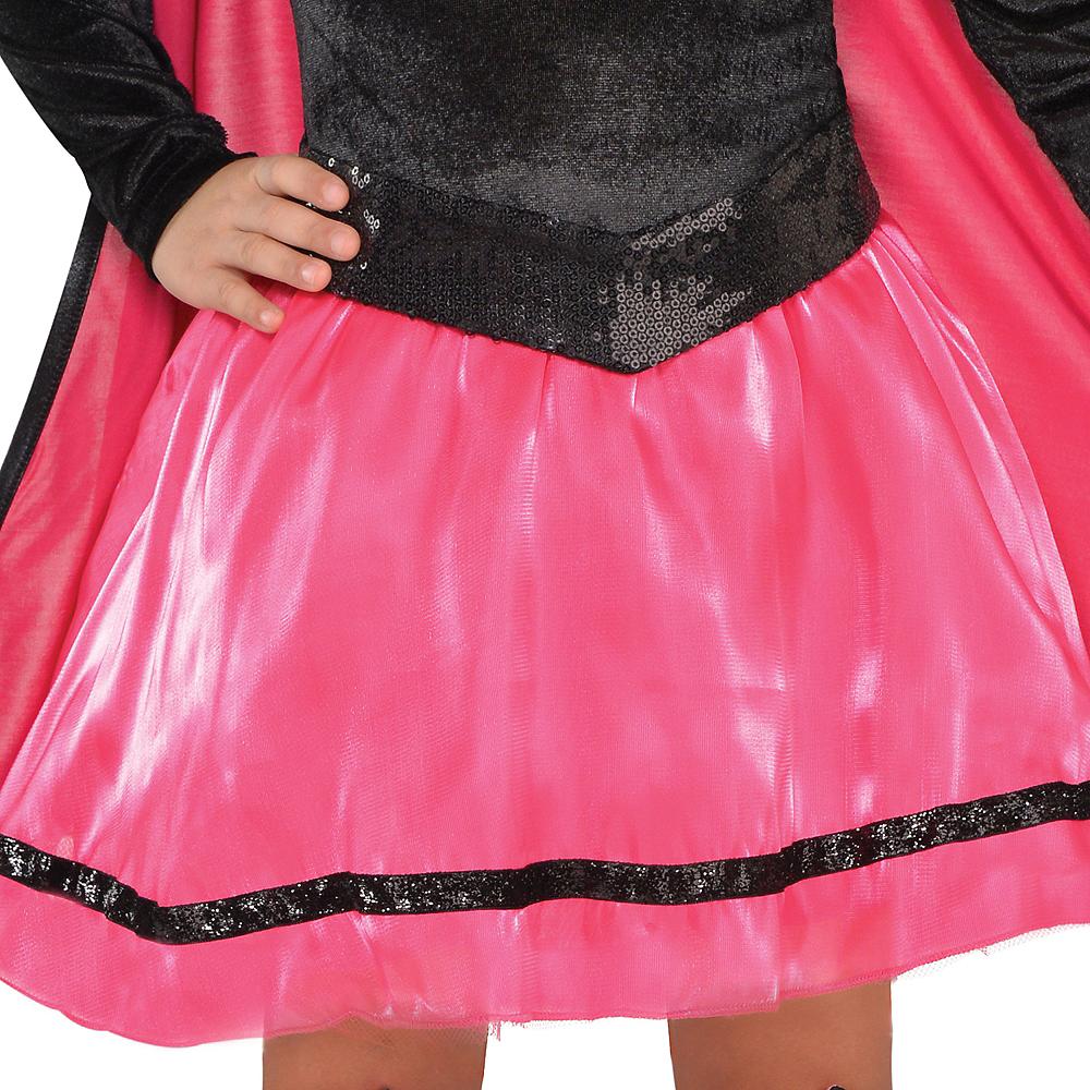 Toddler Girls Pink Supergirl Dress Costume - Superman Image #3