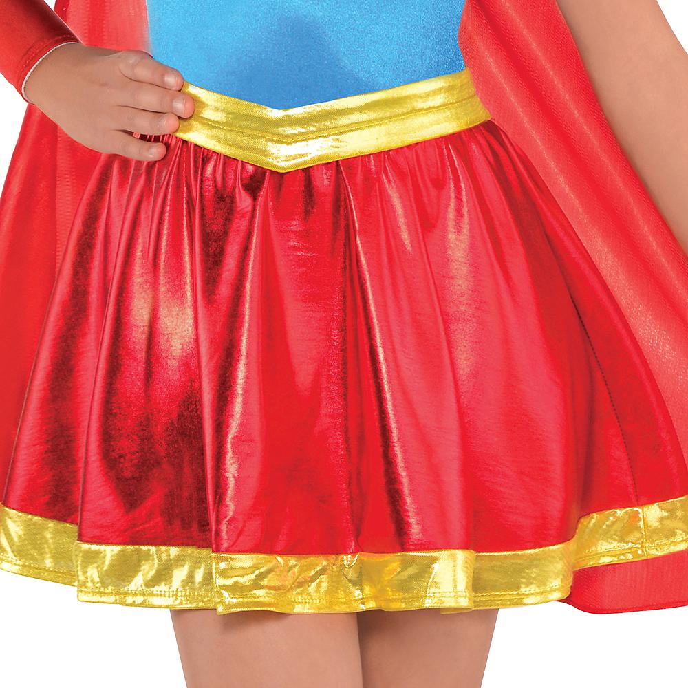 Girls Supergirl Dress Costume - DC Super Hero Girls Image #3