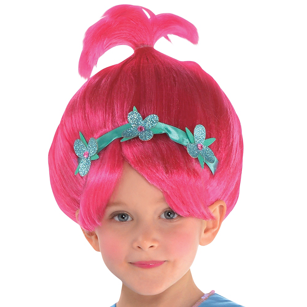 Girls Poppy Costume - Trolls Image #2