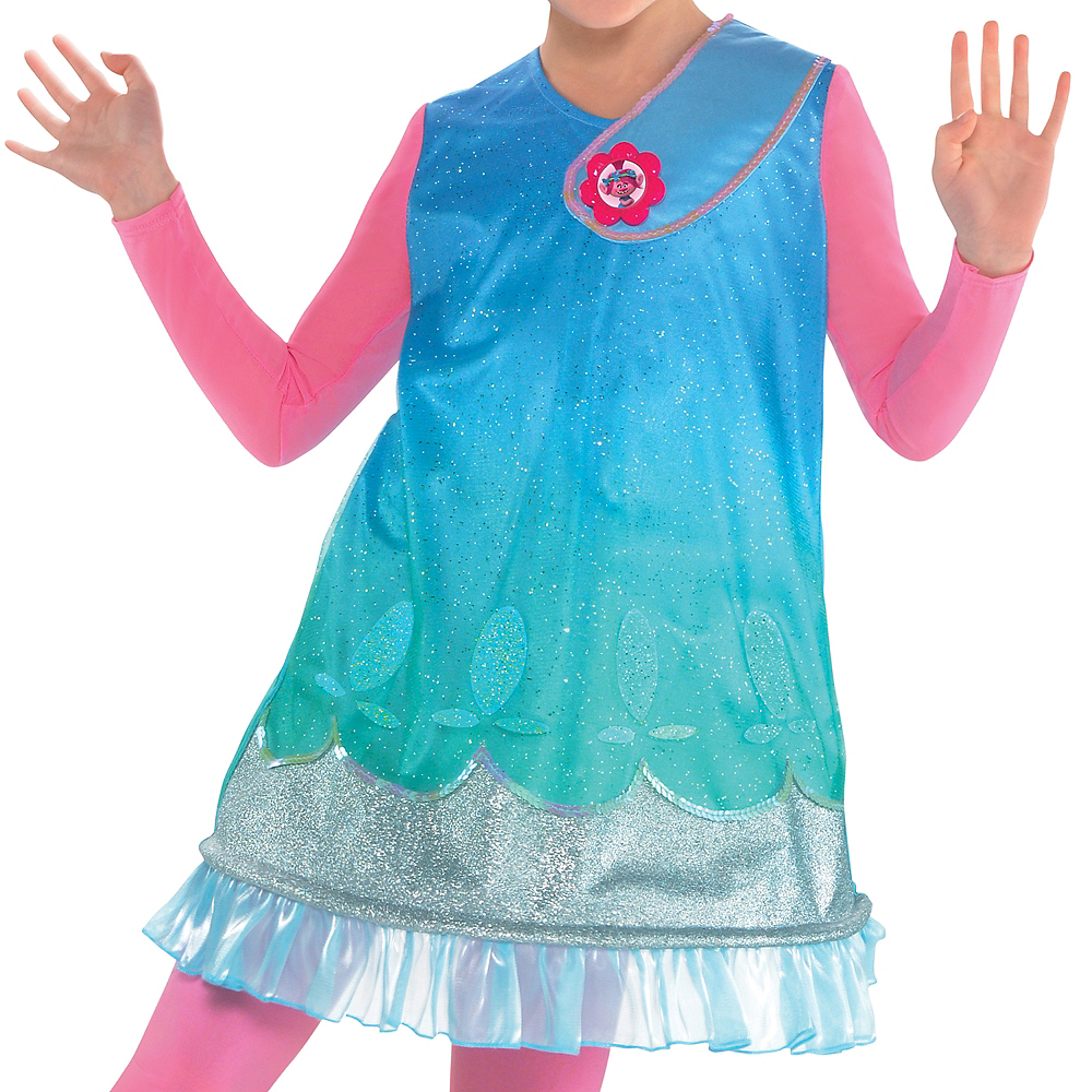 Girls Poppy Costume - Trolls Image #3