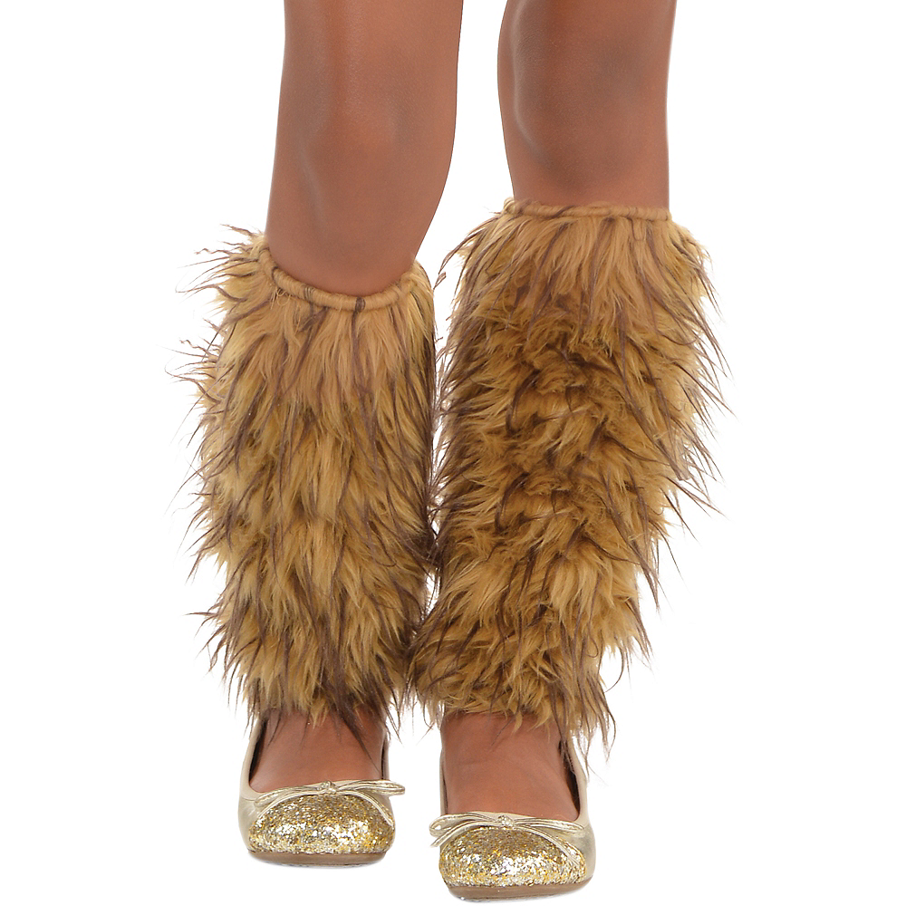 Nav Item for Girls Cowardly Lion Costume - Wizard of Oz Image #4