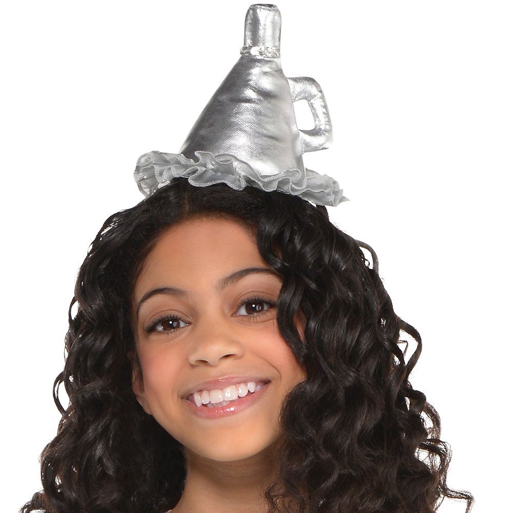 Girls Tin Man Costume - Wizard of Oz Image #2