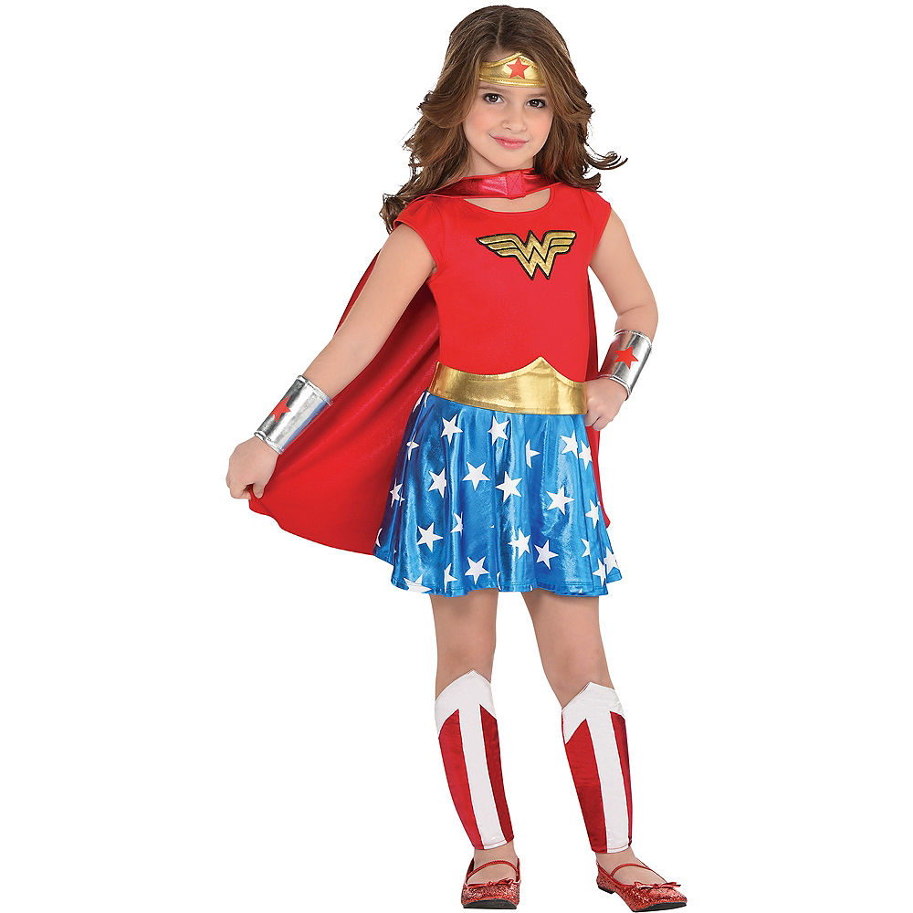 Wonder woman pants costume-7627