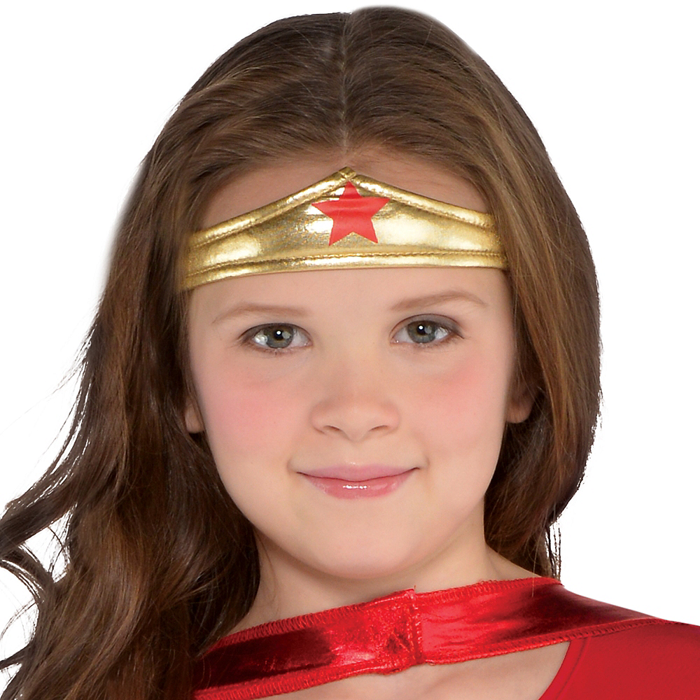 Nav Item for Girls Wonder Woman Costume Image #2