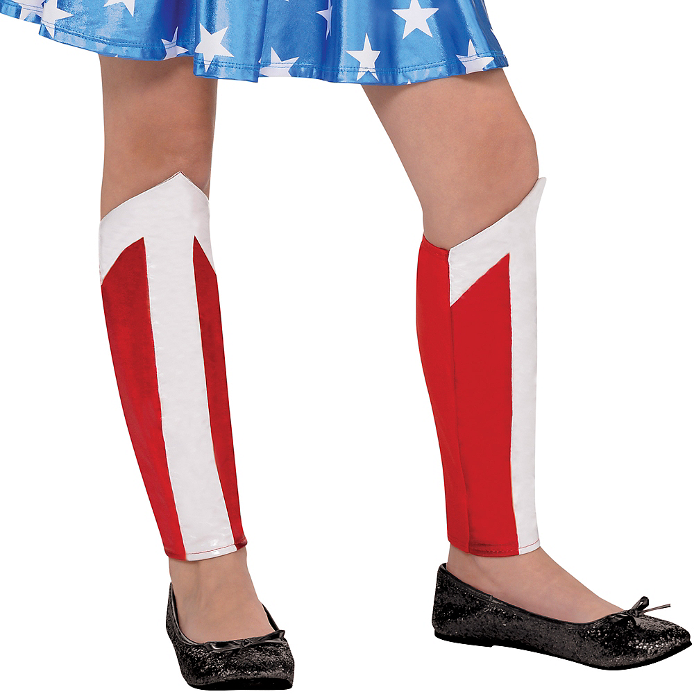 Nav Item for Girls Wonder Woman Costume Image #4