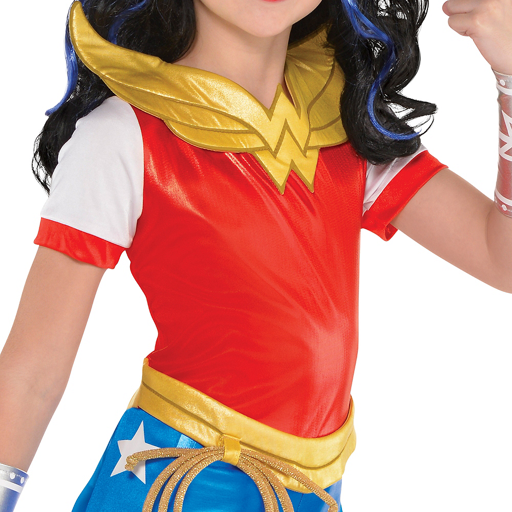 Girls Wonder Woman Jumpsuit Costume - DC Super Hero Girls Image #3