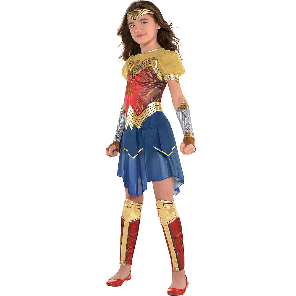 Girls Wonder Woman Costume - Wonder Woman Movie  Party -9621