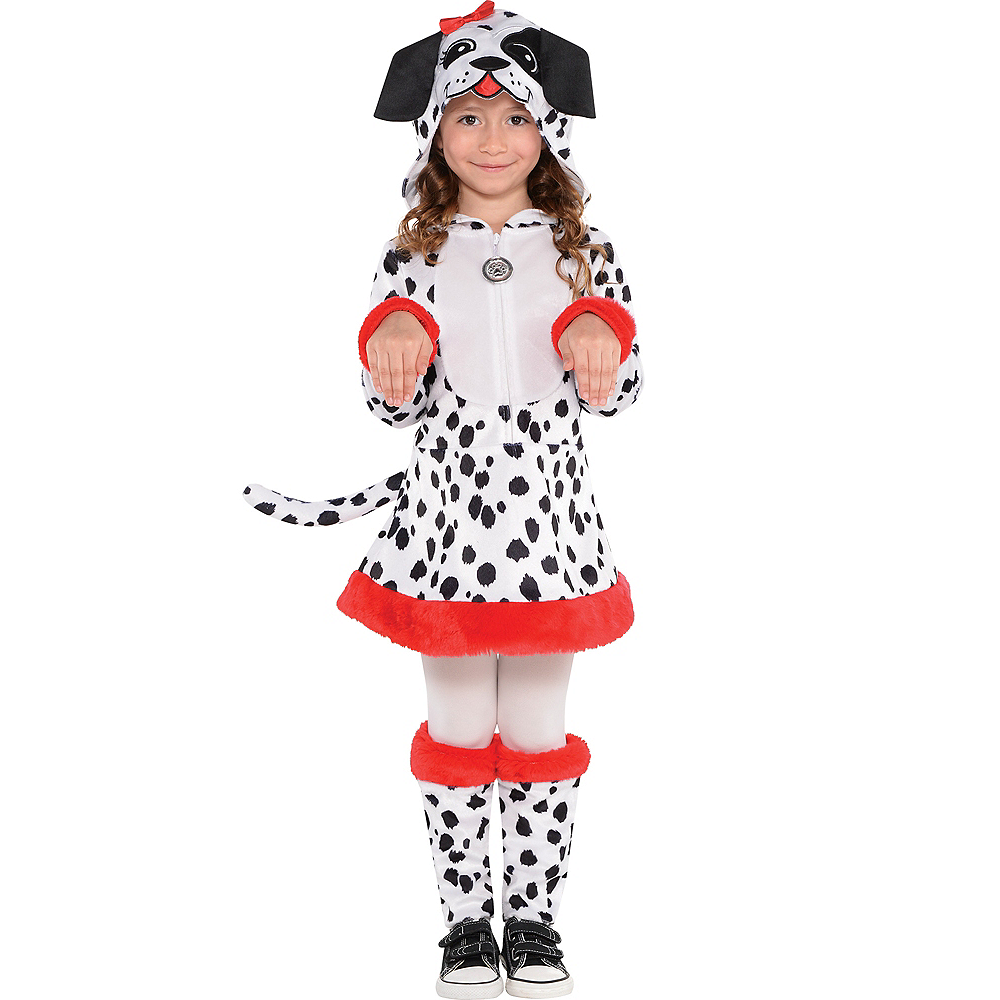 Toddler Girls Dalmatian Costume Image #1