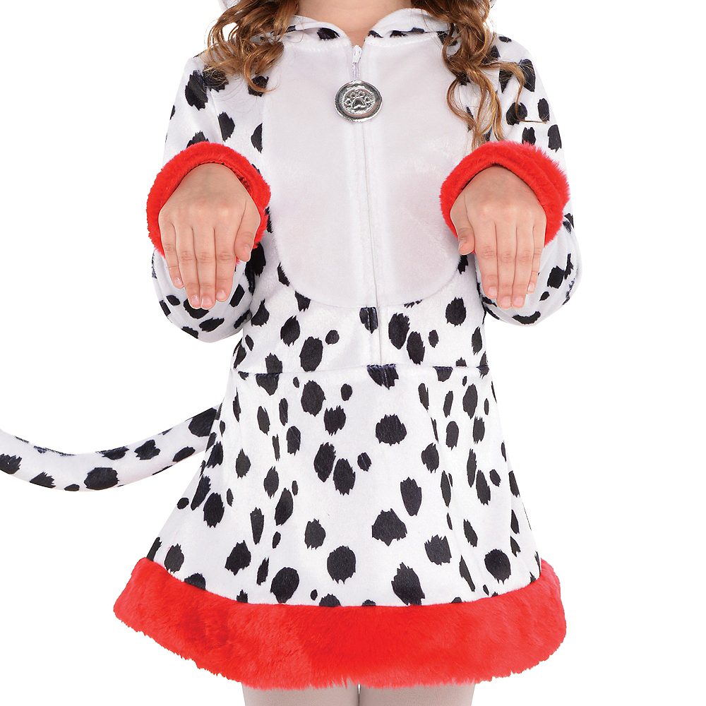 Toddler Girls Dalmatian Costume Image #3