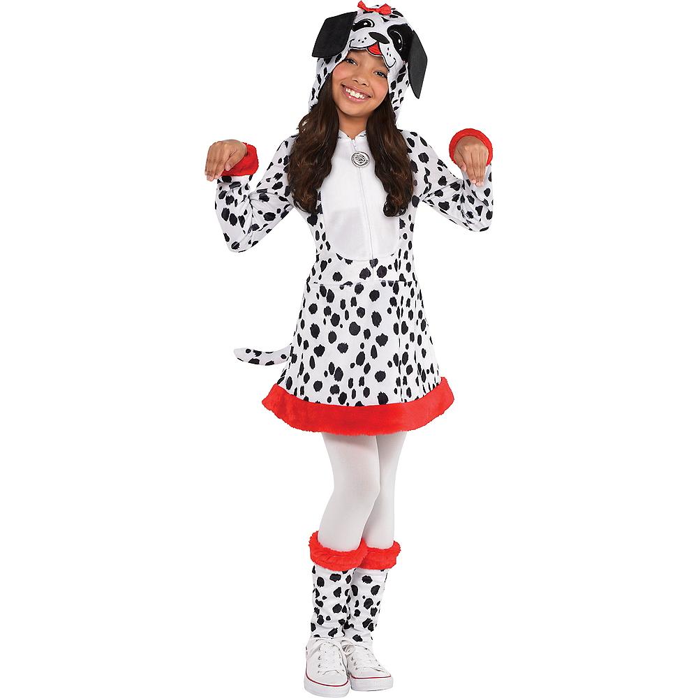 Girls Dalmatian Costume Image #1