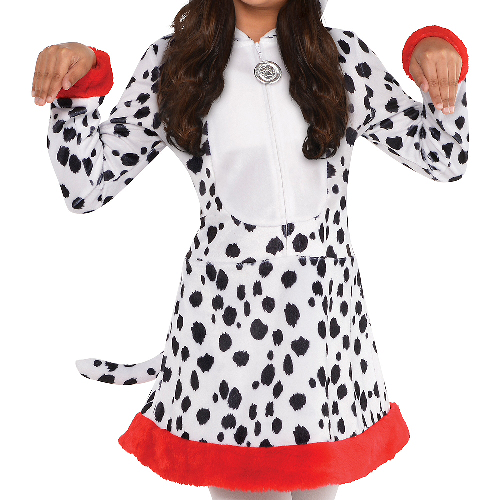 Girls Dalmatian Costume Image #3