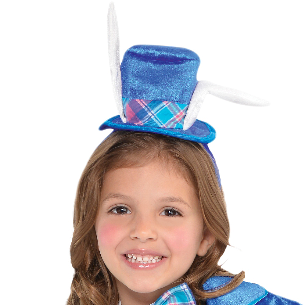 Toddler Girls White Rabbit Costume Image #2