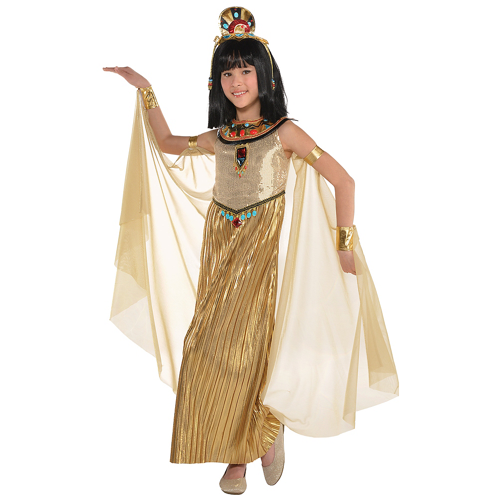 Girls Golden Goddess Costume