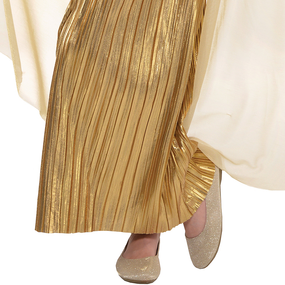 Girls Golden Goddess Costume Image #4