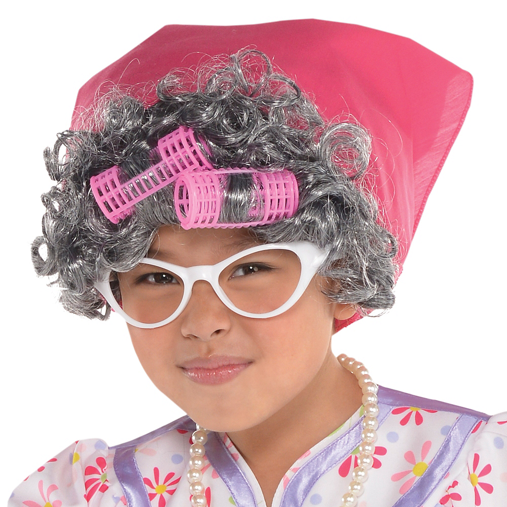 Girls Little Old Lady Costume Image #3