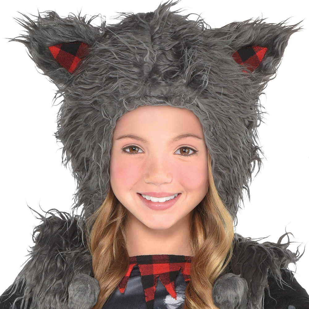 Girls She Wolf Costume Image #2