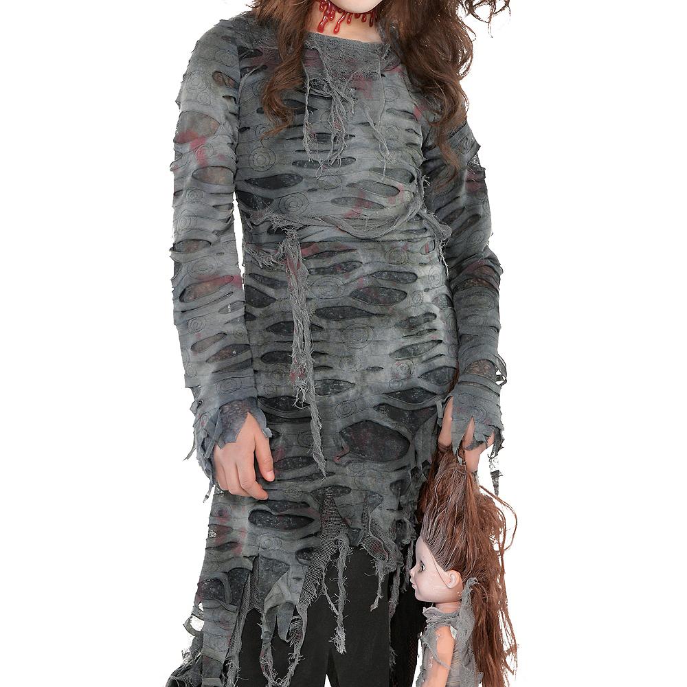 Girls Undead Walker Zombie Costume Image #2