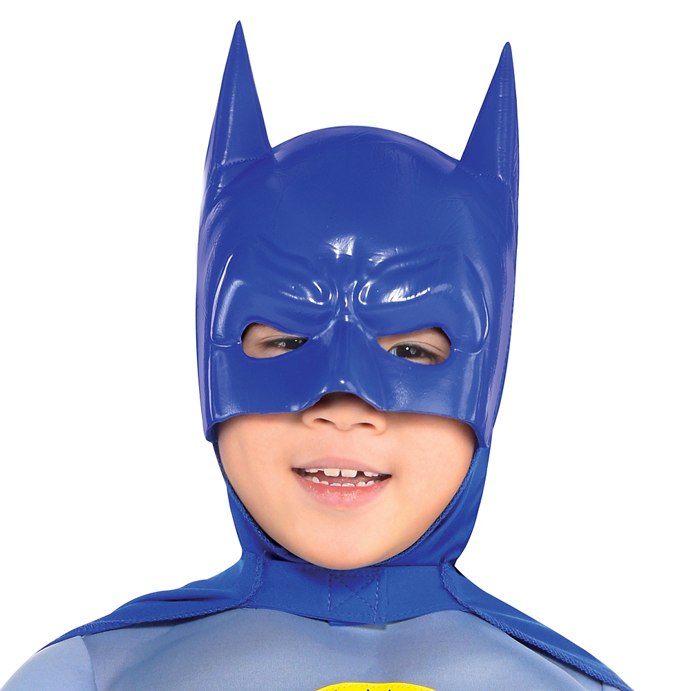 Boys Classic Batman Muscle Costume - The Brave & the Bold Image #2