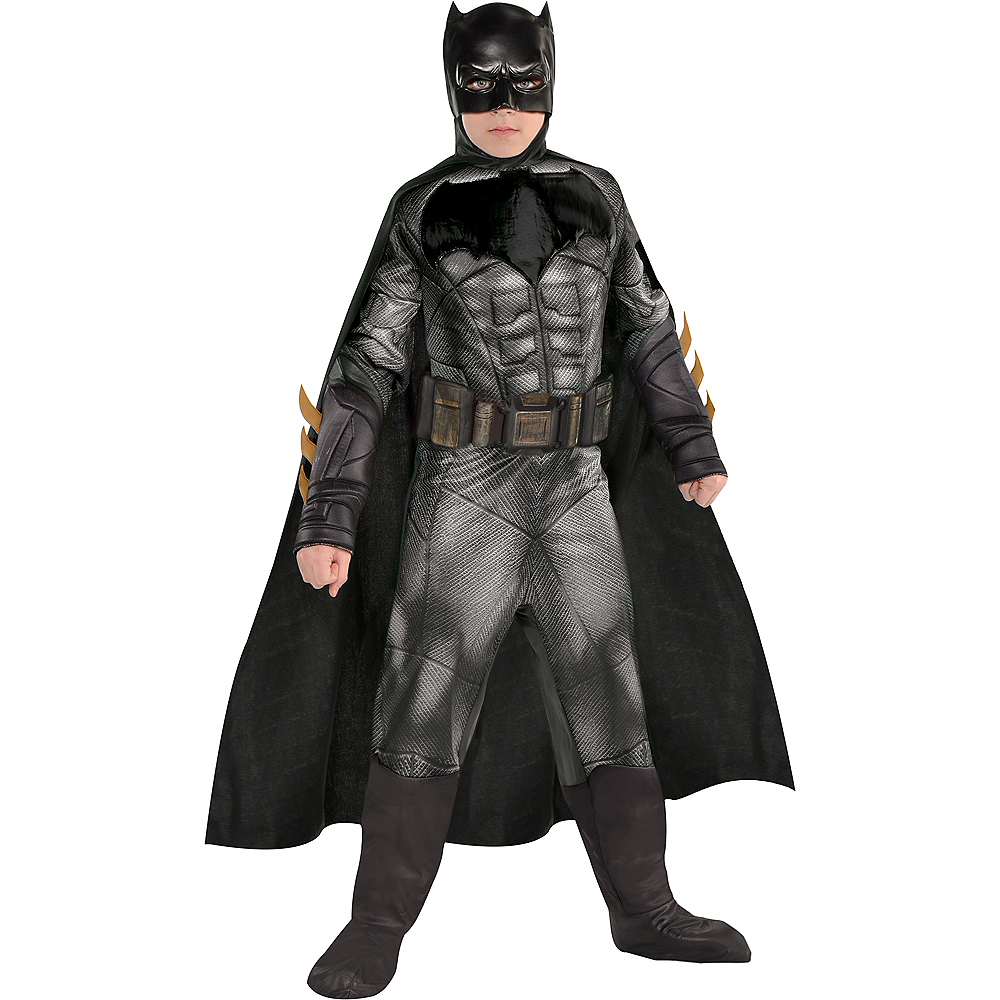 Boys Batman Muscle Costume - Justice League Image #1