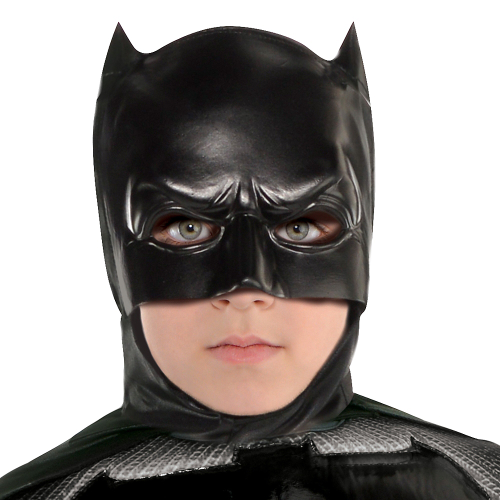 Boys Batman Muscle Costume - Justice League Image #2