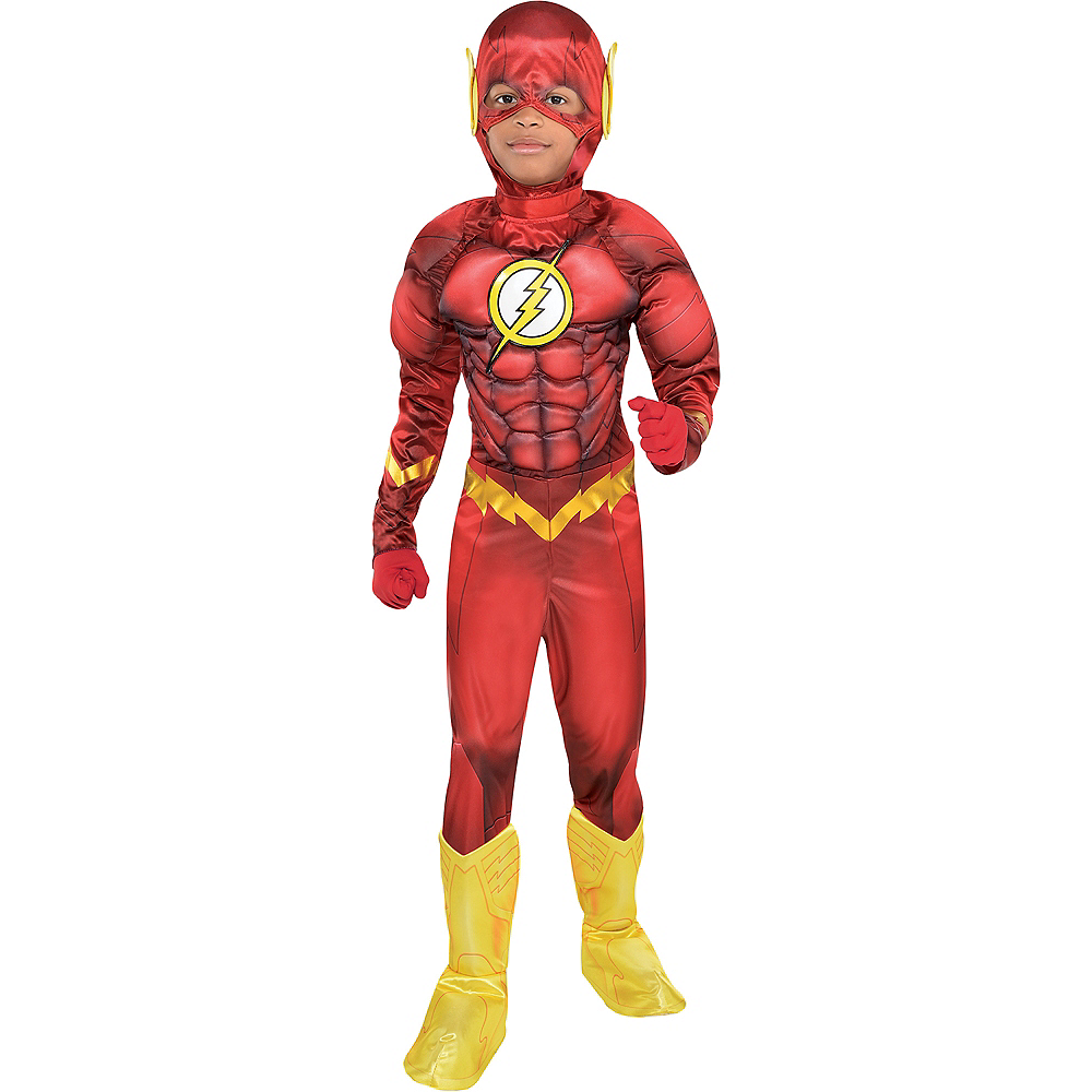 Boys The Flash Muscle Costume - DC Comics New 52 Image #1