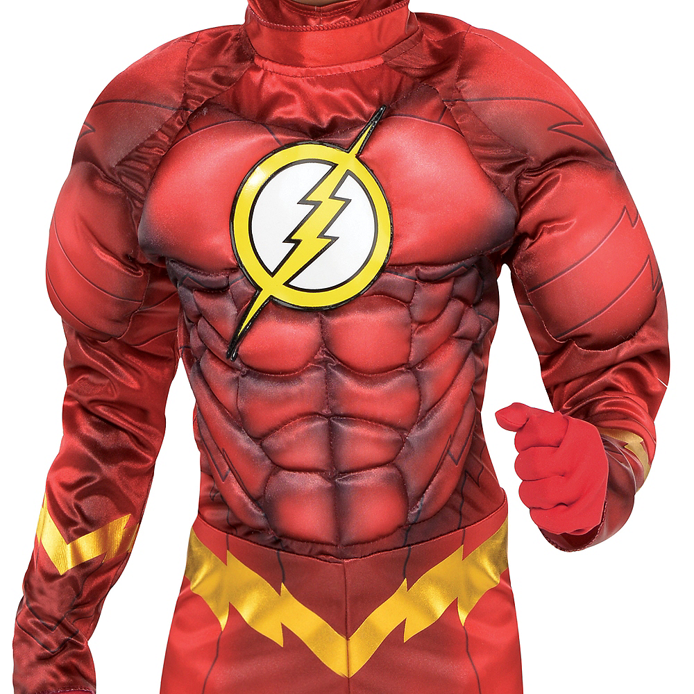 Boys The Flash Muscle Costume - DC Comics New 52 Image #3