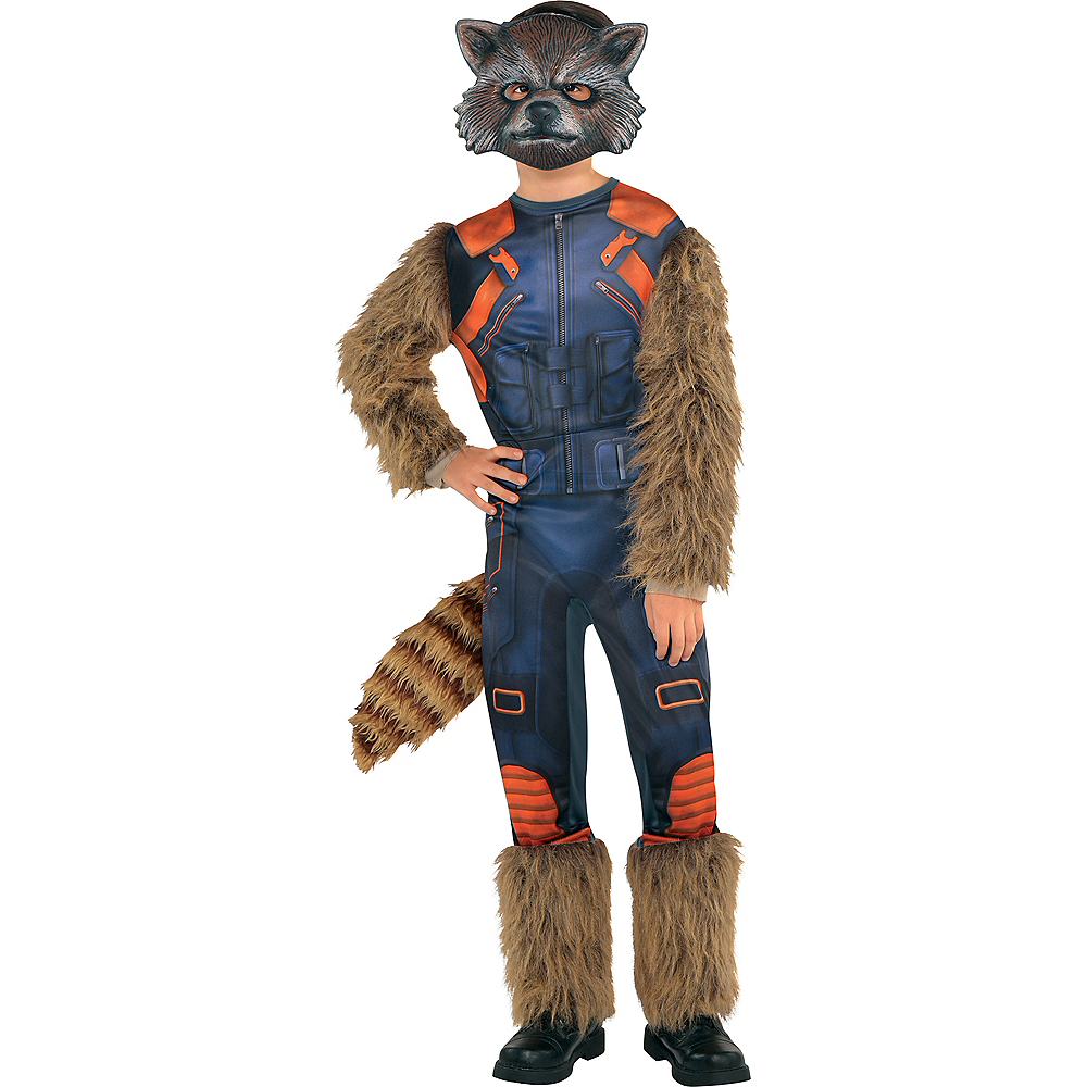 Boys Rocket Raccoon Costume Guardians Of The Galaxy 2 Party City