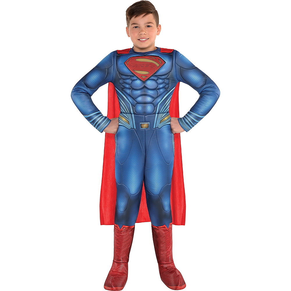 Boys Superman Muscle Costume - Justice League Part 1 Image #1